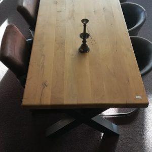 Eiken tafel 300x90cm
